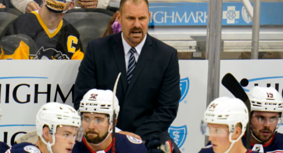Head coach Brad Larsen is making the right moves early in his tenure as the Blue Jackets bench boss.