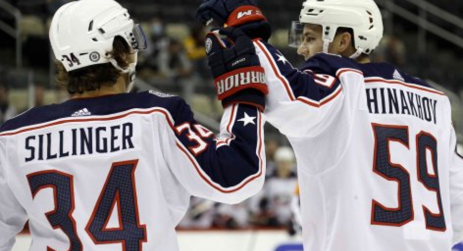 At a combined 38 years old, both Cole Sillinger and Yegor Chinakhov have made the Columbus Blue Jackets opening night roster.