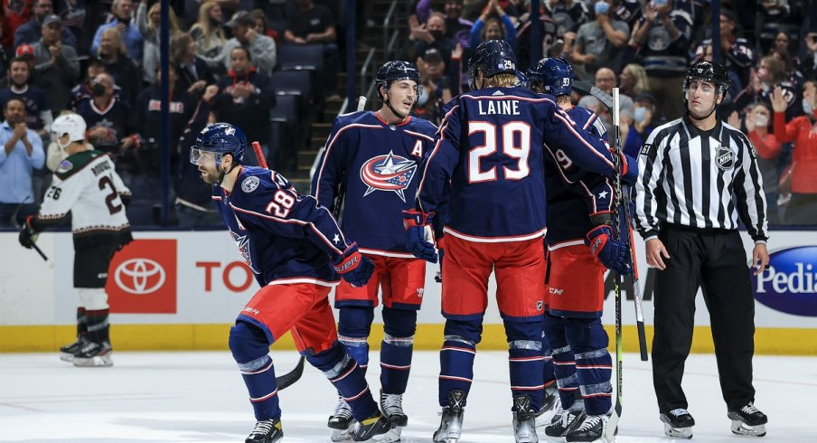 Film Session: Blue Jackets Power Play Shows Immediate Improvements Through Two Games