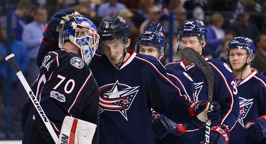 Columbus Blue Jackets Roster | 1st Ohio Battery